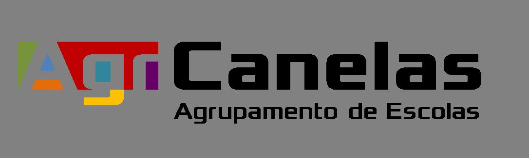 Logo do Agrupamento de escolas de canelas
